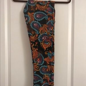 LuLaRoe Tall & Curvy (TC) Leggings, worn once!